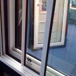 Triple glazed window system