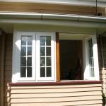 Installation of double glazed windows