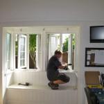 Double glazed windows installation