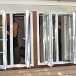 Completing installation of double glazed windows