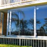 Sliding double glazed windows