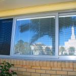 Winternal venetian blinds