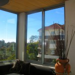 Double glazed window system