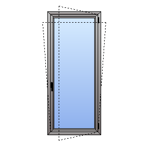 double glazed tilt and turn door