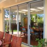 Double glazed bifolding doors