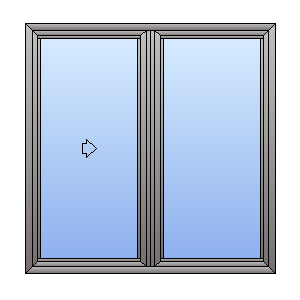 double glazed sliding door