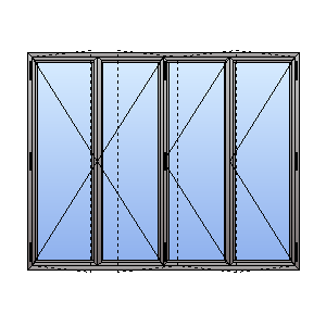 double glazed bifolding door