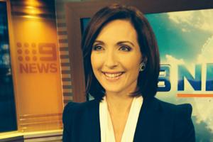 Winsulation sponsors Melissa Downes Nine News Brisbane