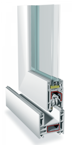 Rehau uPVC double glazed window systems