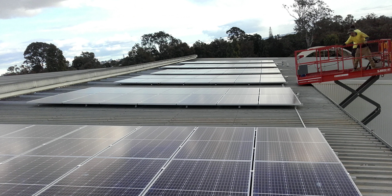 Winsulation reducing carbon footprint with solar panels