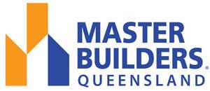 master builders logo for certified double glazers in Brisbane